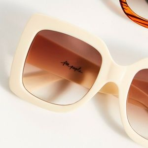 Sugar Oversized Square Sunglasses